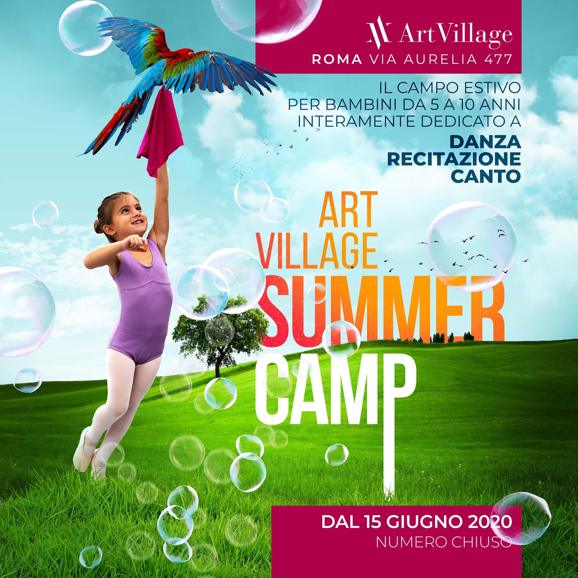 Art Village Summer Camp