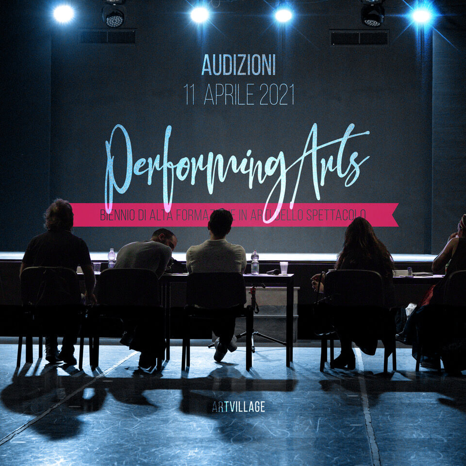 PERFORMING ARTS – THE AUDITION ARE OPEN!