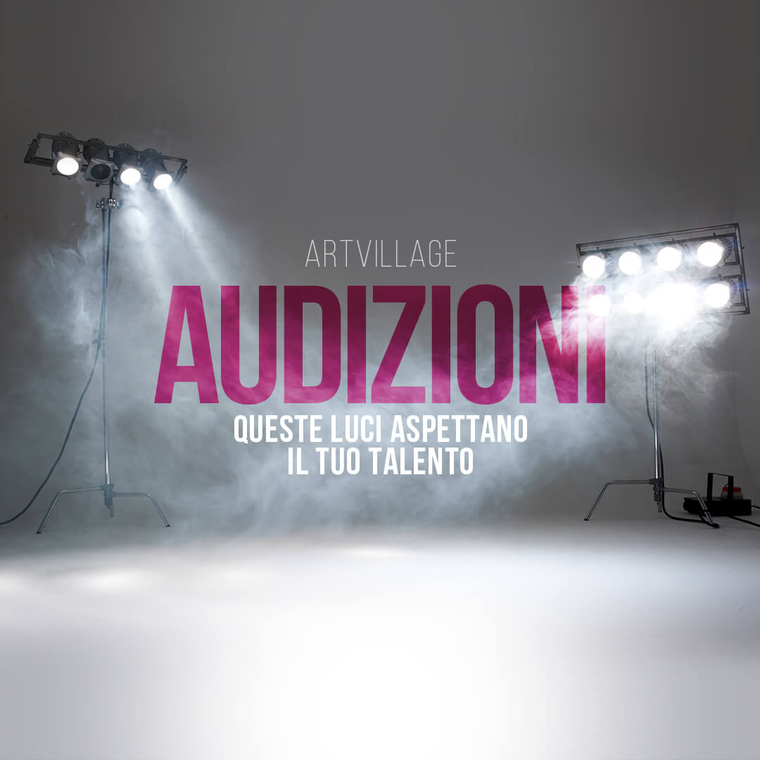 AUDIZIONE PERFORMING ARTS E MUSICAL ACADEMY